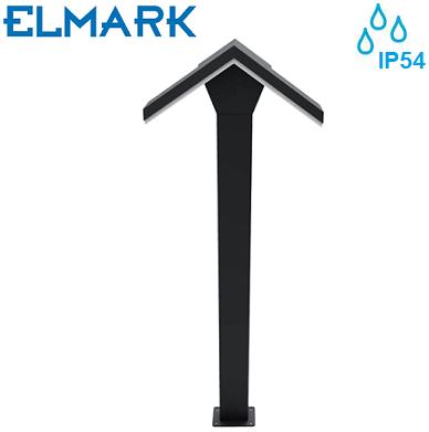zunanji-vrtni-led-stebriček-ip54-elmark-svetila