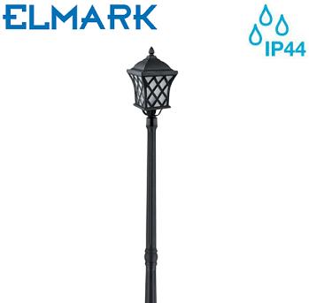zunanji-vrtni-steber-višina-2-metra-ip44-antik-medenina