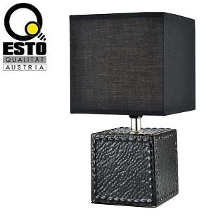 keramična-namizna-dekorativna-svetilka-za-nočno-omarico-spalnico-esto-črna