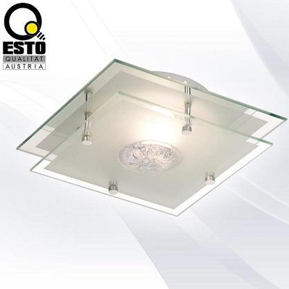 klasična-steklena-stropna-svetilka-plafonjera-esto-300X300-mm