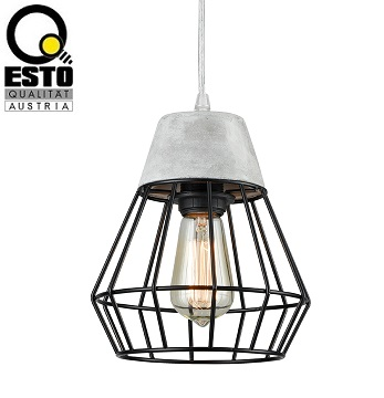 retro-vintage-viseča-svetilka-luči-esto-iz-betona-starinske