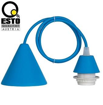 viseče-silikonsko-e27-podnožje-za-svetilke-e27-modro