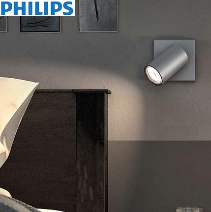 enojni-led-spot-reflektor-za-dpm-philips-aluminij-sivi