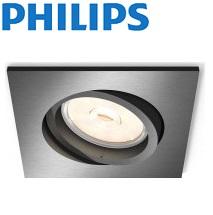 vgradna-kvadratna-gibljiva-svetilka-z-nastavljivim-kotom-philips-gu10-50w-črna