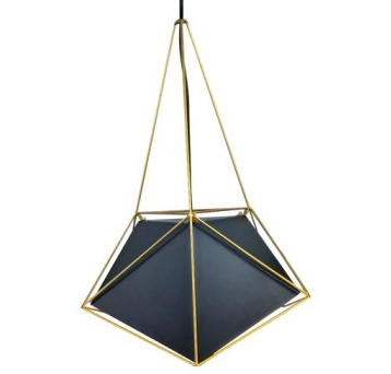 viseča-retro-vintage-svetilka-črna-zlata