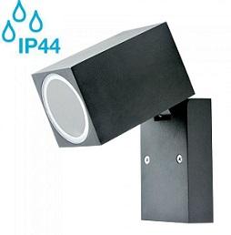 zunnaji-stenski-nastavljivi-reflektor-gu10-črni-ip44