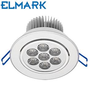 aluminijasta-vgradna-led-svetilka-downlighter-7w-elmark-fi-108