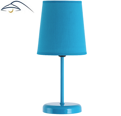 namizna-dekorativna-svetilka-s-senčnikom-za-nočno-omarico-modra