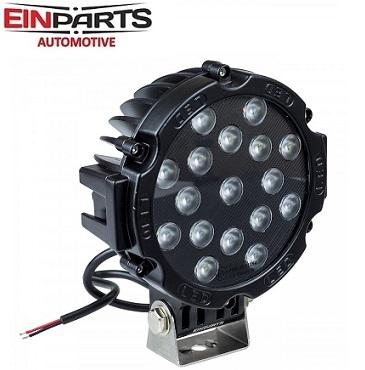 okrogla-delovna-led-svetilka-cree-diode-51w-ip67-črna