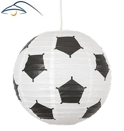 otroška-viseča-svetilka-nogometna-žoga-papirnati-lampion
