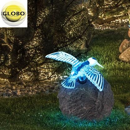 solarna-vrtna-led-svetilka-ptica-na-kamnu