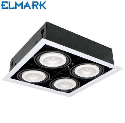 vgradni-arhitekturni-led-reflektorji-za-pisarne-četverni-elmark