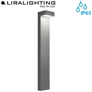 vrtna-talna-stoječa-led-svetila-stebrički-inox-ip65-liralighting-950-mm