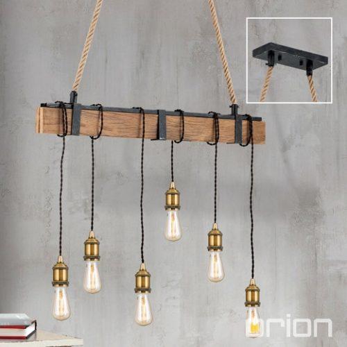 viseča-retro-vintage-svetilka-z-lesom
