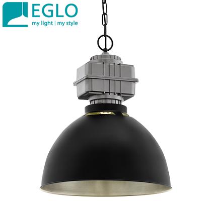 industrijske-retro-vintage-svetilke-luči-eglo-e27-črne