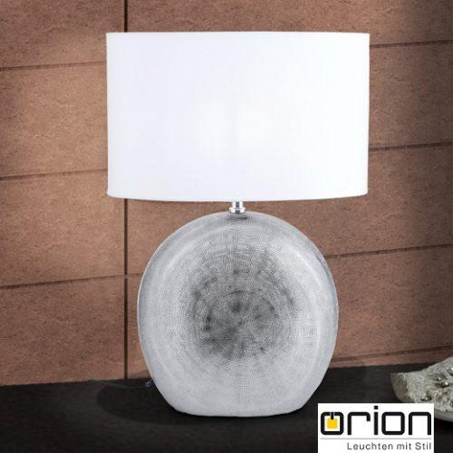 keramična-namizna-svetilka-s-tekstilnim-senčnikom-380-mm-siva