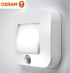 SENZORSKA BATERIJSKA LED SVETILKA OSRAM NIGHTLUX HALL 0,25W 4000K IP54