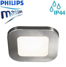 vgradna-led-svetila-za-vlažne-prostore-kopalnice-zunaj-kvadratna-ip44-philips-massive-brušen-nikelj