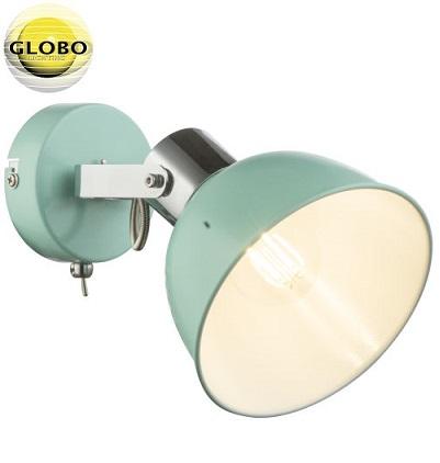 enojna-retro-vintage-spot-reflektorska-svetilka-mint-zelena