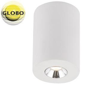 enojni-stropni-reflektor-iz-mavca-gu10-okrogli-beli