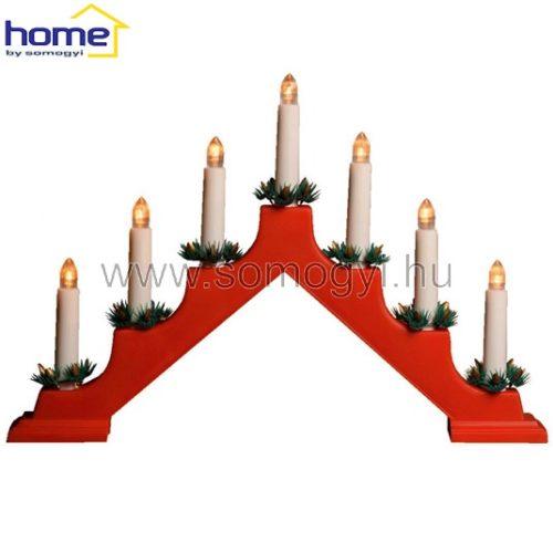 božična-novoletna-namizna-led-dekoracija-piramida-rdeča