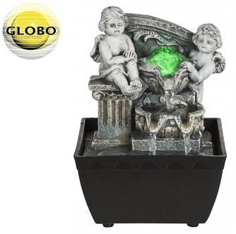 namizna-dekorativna-okrasna-rgb-led-svetilka-kipec-z-fontano-vodometom-globo-lighting