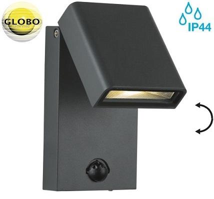 senzorska-zunanja-stenska-gibljiva-nastavljiva-led-svetilka-reflektor-globo-ip44