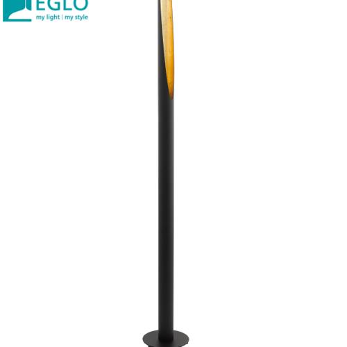 stoječa-svetilka-eglo-črna-zlata