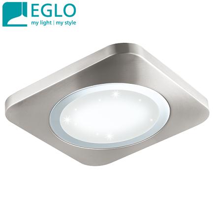 stropna-led-svetilka-plafonjera-kvadratna-brušen-nikelj-kristal-efekt-zvezdno-nebo-eglo-500X500-mm