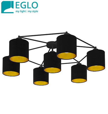 stropna-retro-vintage-svetilka-lestenec-črni