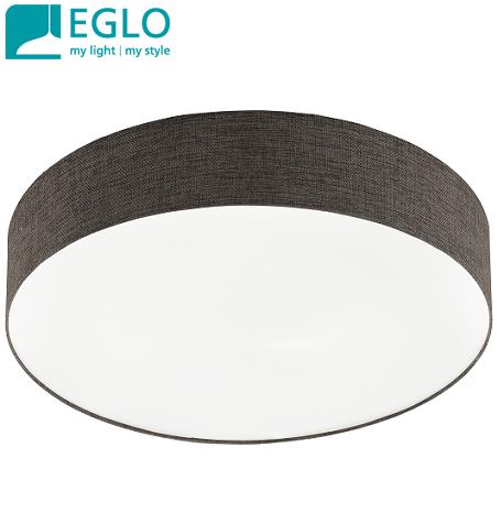 stropna-tekstilna-svetilka-plafojera-fi-570-mm-e27-rjava