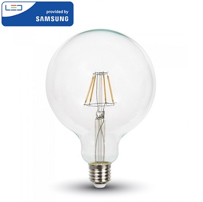 edison-retro-vintage-filamentna-sijalka-e27-žarnica-amber-jantarno-steklo-2200k-6W-fi-95-mm-prozorna