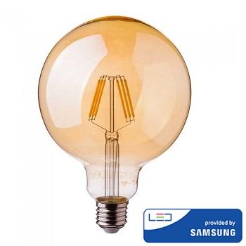 edison-retro-vintage-filamentna-sijalka-e27-žarnica-amber-jantarno-steklo-2200k-6W-fi-95-mm