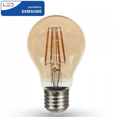 edison-retro-vintage-filamentna-sijalka-e27-žarnica-amber-jantarno-steklo-2200k-6W-samsung-diode