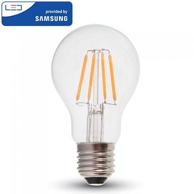 edison-retro-vintage-filamentna-sijalka-e27-žarnica-amber-prozorno-steklo-2200k-6W-samsung-diode
