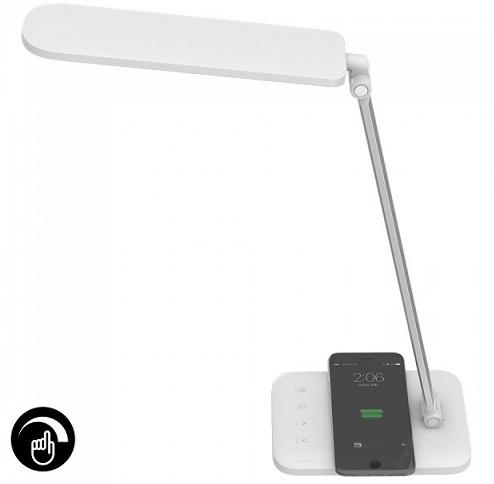 namizna-touch-zatemnilna-delovna-led-svetilka-gibljiva-nastavljiva-barva-svetlobe-brezžično-polnjenje-telefona