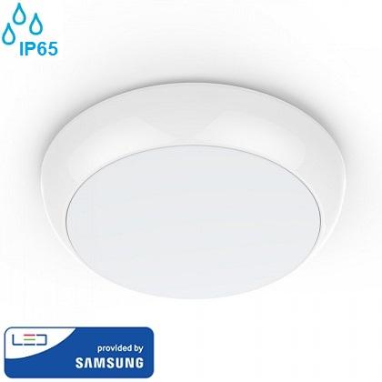 senzorska-zunanja-vodotesna-led-svetilka-plafonjera-ip65-bela-okrogla