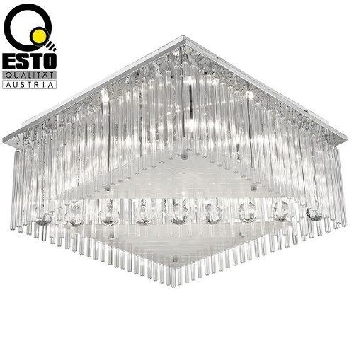 stropna-kristalna-svetilka-lestenec-z-vijoličnimi-led-diodami