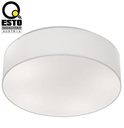 stropna-tekstilna-svetilka-fi-600-mm-e27-esto-svetila-bela