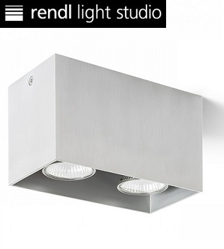 dvojni-kvadratni-stropni-reflektor-brušen-aluminij
