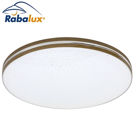 stropna-led-svetilka-plafonjera-kristal-efekt-zvezdno-nebo-rabalux-okrogla-fi-350-mm-rjava