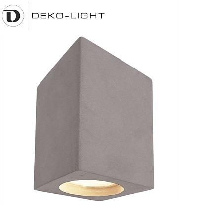 stropna-nadgradna-svetilka-iz-betona-gu10-reflektor-kvadratni
