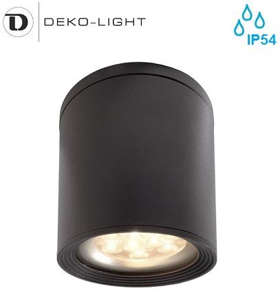 zunanji-stropni-reflektor-downlighter-okrogli-vodotesni-e27-ip54-antracitni
