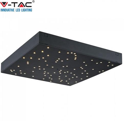 stropna-led-kvadratna-svetilka-z-nastavljivo-barvo-svetlobe-zvezdno-nebo-črna