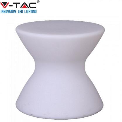 zunanja-dekorativna-akumulatorska-rgb-led-svetilka-svetleči-stol-z-daljinskim-upravljanjem-ip65-za-gostinski-vrt-teraso-balkon-bela