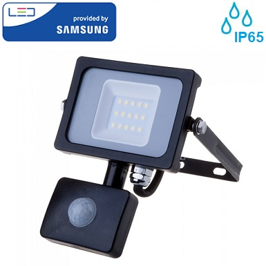 zunanji-senzorski-led-ferlektor-10w-ip65-črni