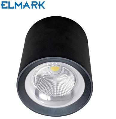 zunanji-stropni-led-reflektor-ip44-črni
