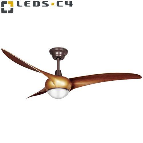 dizajnerski-stropni-ventilator-z-led-svetilko-rjavi
