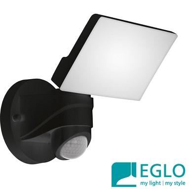 senzorski-zunanji-led-reflektorji-eglo-ip44-črni