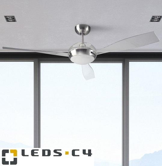 STROPNI VENTILATOR Z LED SVETILKO SIROCCO fi 1320 mm 16W 3000K